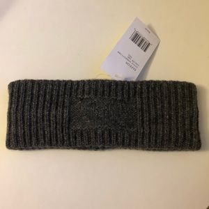 Vince Grey Cashmere Cold Weather Ear Warmer Band